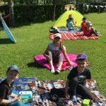 Darželyje piknikas